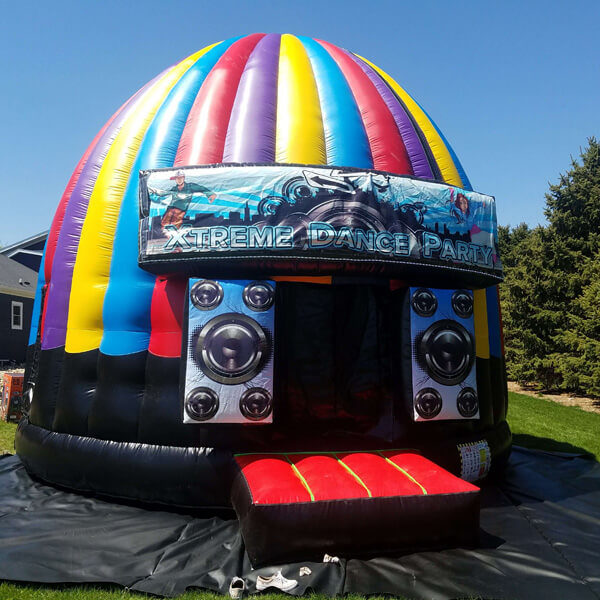 Inflatable Dance Dome   Rent All in Sioux Center and Storm Lake   Inflatable for rent
