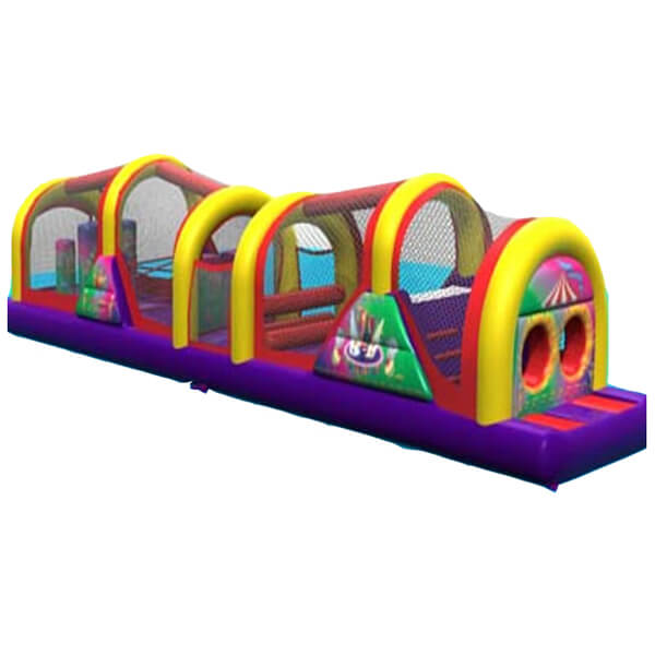 51' Obstacle Course Circus | Inflatable for Rent | Rent-All located in Sioux Center