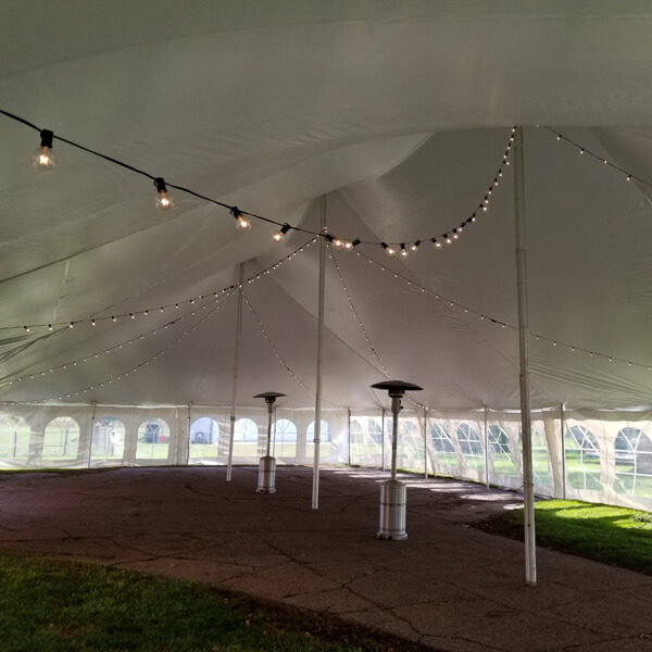 Mini Globe Lights   Celebrations by Rent-All located in Sioux Center   Tent Lighting For Rent