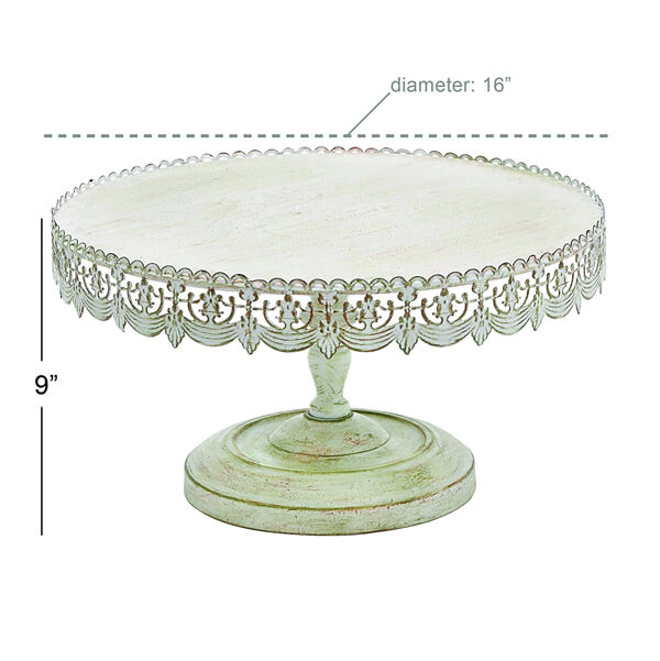 16 white wedding cake stand antique cake stand 16 quot rent all inc 10071