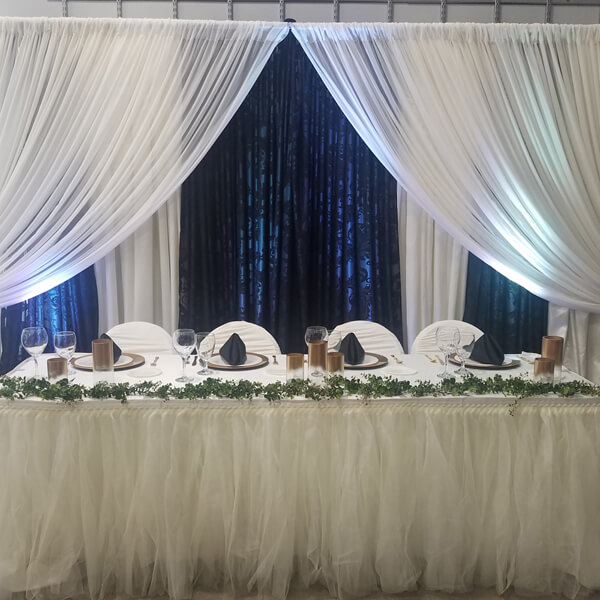 Damask Backdrop | Celebrations by Rent-All located in Sioux Center | Wedding Rental | Backdrops For Rent