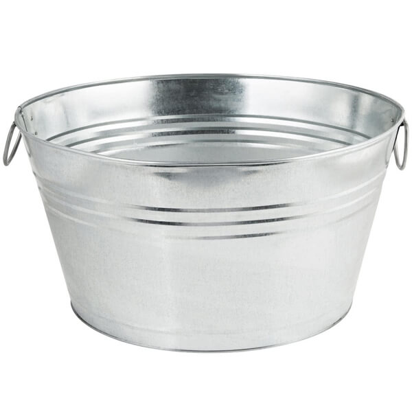 beverage inc metal in located center by galvanized all sioux product celebrations tub rent