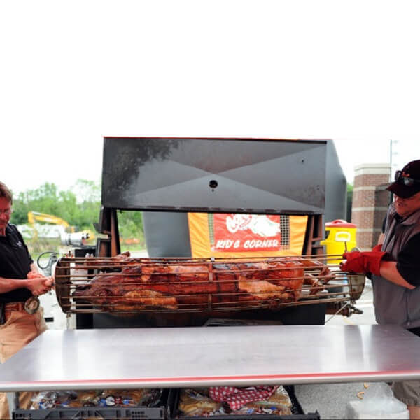 Rotisserie Grill Attachment | Rent-All located in Sioux Center | Rotisserie for Rent