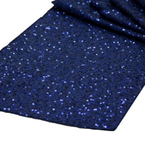 Navy Glitz Sequin Runner   Celebrations by Rent-All located in Sioux Center   Wedding Rental   Table Runners For Rent