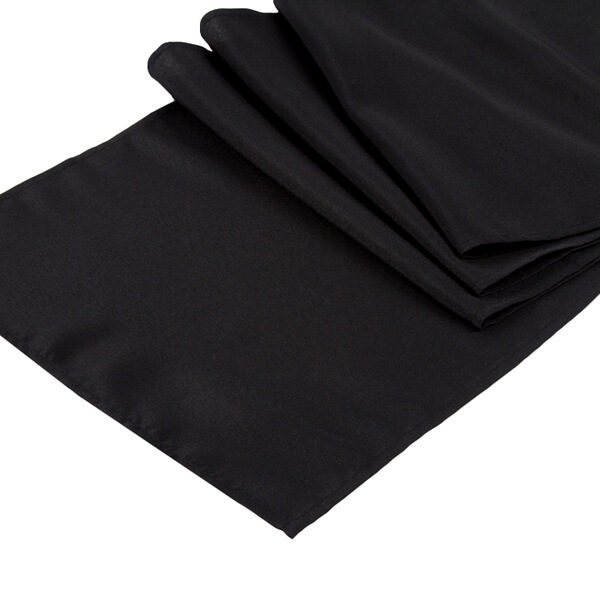 Black Runner   Celebrations by Rent-All located in Sioux Center   Wedding Rental   Table Runners For Rent