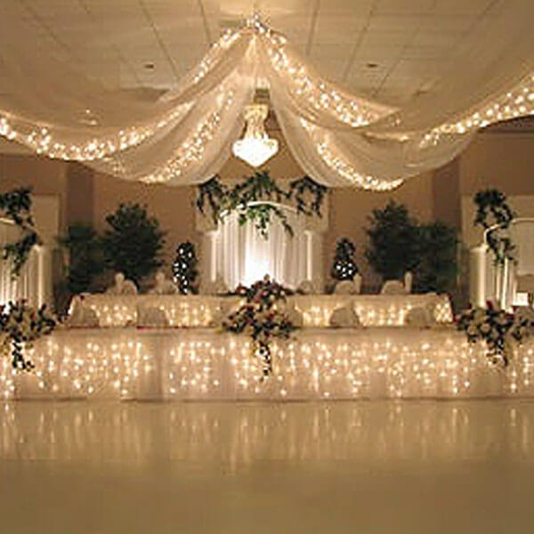 Starlight Canopy Strand | Celebrations by Rent-All located in Sioux Center | Lighting Rentals | For Rent