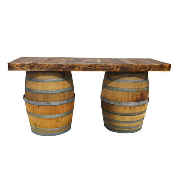6' Tabletop Only | Celebrations by Rent-All located in Sioux Center | Wedding Rental | Wood Tabletop For Rent