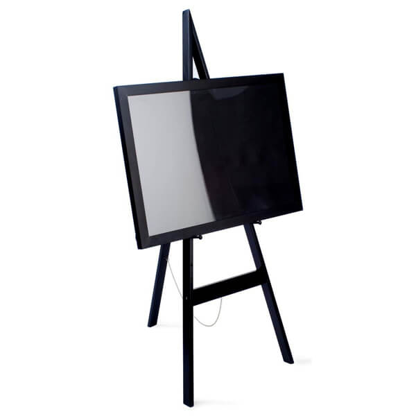Black Wood Easel | Celebrations by Rent-All located in Sioux Center | For Rent