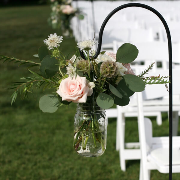 Shepherd Hooks | Celebrations by Rent-All located in Sioux Center | Wedding Isle Decor For Rent