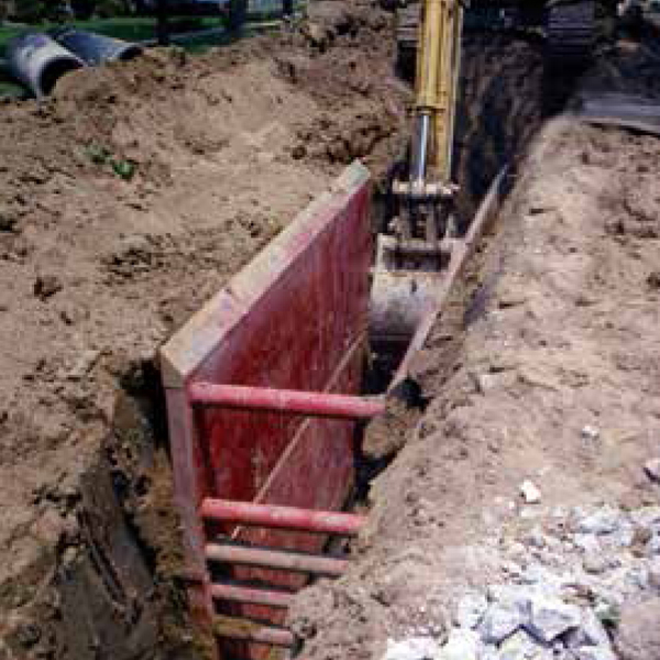 Steel Trench Box Rent All Inc